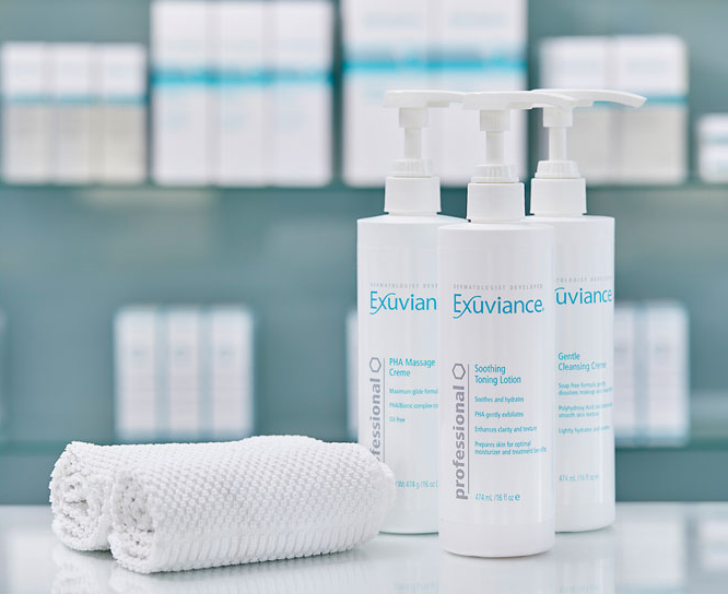 Exuviance behandlinger